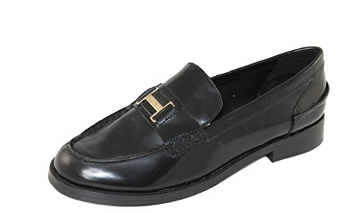 Braccialini Damen Schuhe Shoe Slipper Loafers 278AB schwarz (39)