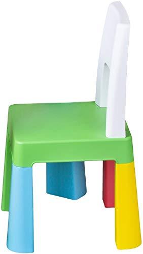 Tega Baby Kinderstuhl für Drinnen und Draußen, bunt MF-002-134