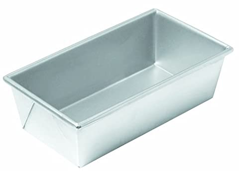 Chicago Metallic Commercial II Traditional Uncoated 1-Pound Loaf Pan