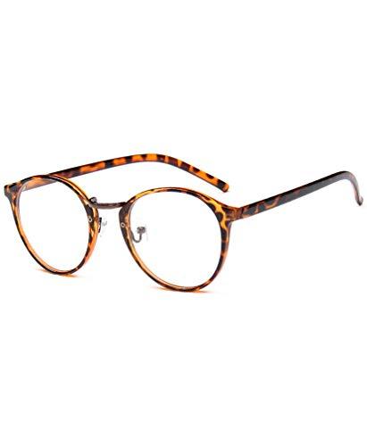 Klare Linse Gläser Dekobrille Nerdbrille Klassisches Brillengestell Glasses Frame Damen herren