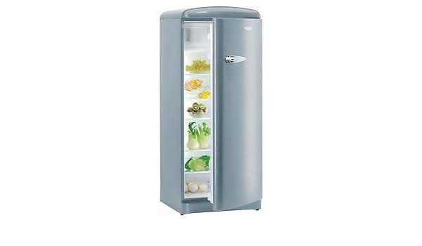 Kühlschrank Nostalgie : Gorenje kühlschrank rb oal nostalgie alu amazon elektro