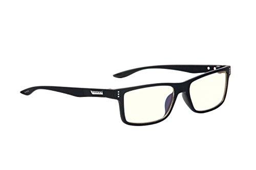 Gunnar Vertex Onyx LIQUET Lunette Anti Fatigue de Protection Contre UV Noir