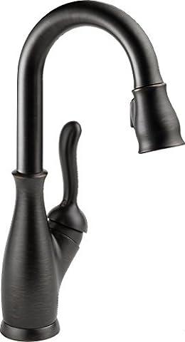 Delta Faucet 9678-RB-DST Leland, Single Handle Bar/Prep Faucet, Venetian Bronze by DELTA FAUCET