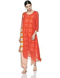 7188282b49d Georgette Women's Kurtas & Kurtis: Buy Georgette Women's Kurtas ...