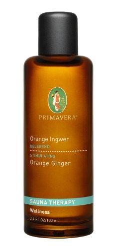Preisvergleich Produktbild Primavera Bio Aroma Sauna Orange Ingwer,  100 ml