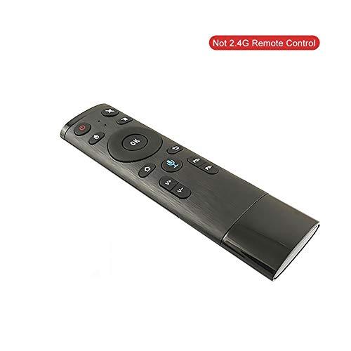 Pushally Bluetooth/2,4 GHz WiFi-Sprachfernbedienung, Luftmaus mit USB-Empfänger für Smart TV Android Box Harmony Ultimate All in One Fernbedienung - Harmony-universal-fernbedienung
