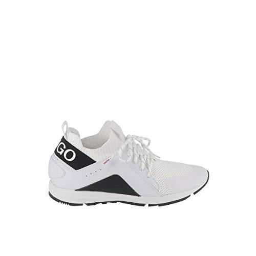 Hugo Boss Herren Sneakers Hybrid Runn Weiss (10) 43
