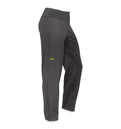 9cab22732d7 Outdoor Research Radiant Hybrid Tights Charcoal lemongras XL