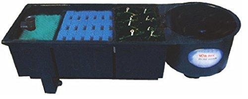 AquaForte Vortex 30000 Mehrkammerfilter, schwarz, max. Teichgröße 30m³, max. Durchfluss 9m³/h