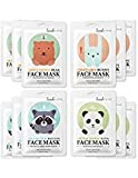 No more worry about dry skin! Only 15minutes to get glow and moisturizing skinLookAtMe - SWEET HONEY BEAR FACE MASK X 3  Enriched with Honey and Propolis Extract to help refresh and energize skin leaving it feeling soft, smooth and supple.Th...