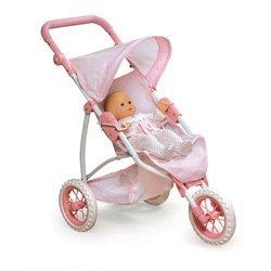 Three Wheel Doll Jogging Stroller