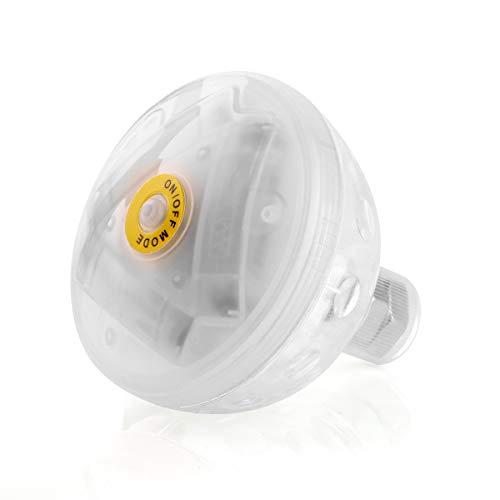 Chennie 5-Modus-farbenfrohe Wasser Licht Badewanne Schwimmbecken schwimmende Led Lampe Spielzeug für Erwachsene & Kleinkind Kinder