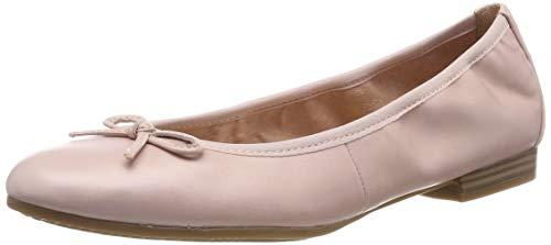 Tamaris Damen 1-1-22116-22 599 Geschlossene Ballerinas Pink (Rose Pearl), 43 EU