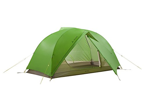 Cress Green (Vaude Space SUL 1-2P Seamless 2-Personen-Zelt, cress Green, one Size)