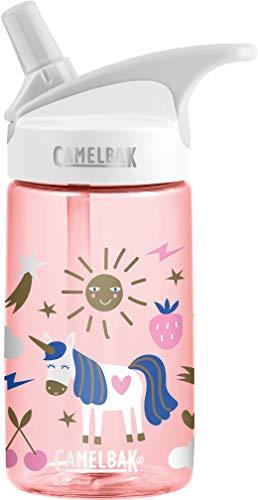 Camelbak Unisex Jugend Kinderflasche Eddy, Rosa, 400 ml -