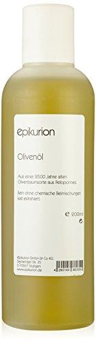 Epikurion Olivenöl für Haut und Haar, 1er Pack (1 x 200 ml)