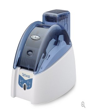 Evolis Tattoo2 RW, single sided 300dpi, USB, Ethernet, TTR201BBH (300dpi, USB, Ethernet incl.: card feeding, cable (USB), PSU, cable (EU), Card Designer Std. (demo))