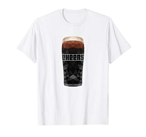 Irland Pint Stout Cheers T-Shirt, lustiges Shirt