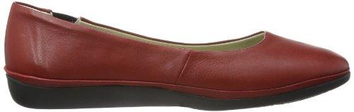 Softinos Dalila cashmere, Scarpe chiuse donna Rosso(Rot (red 521))