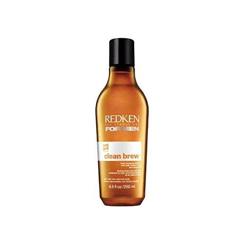 Redken Per Gli Uomini Birra Pulito Pulizia In Più Shampoo 250Ml (Confezione da 6)
