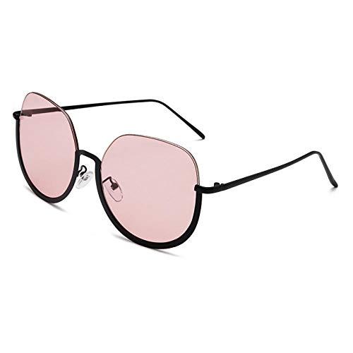 2THTHT2 Mode Runde Semi-Rimless Sonnenbrille Retro Männer Frauen Brillen Marke Shades Sonnenbrille Uv400 Brillen