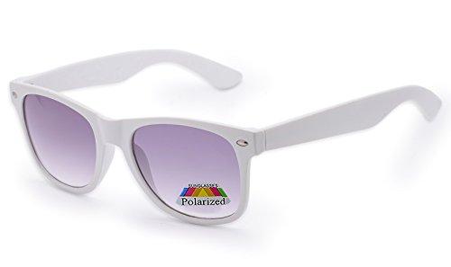 4sold Jungen Polarized Sonnenbrille Kids in vielen Farbkombinationen Klassische Unisex Sonnenbrille Fune