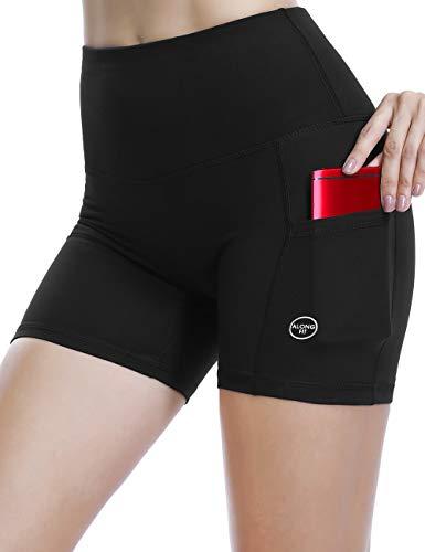 ALONG FIT Shorts de Yoga de Mujer, Mallas de Mujer Leggings Opaca Depo