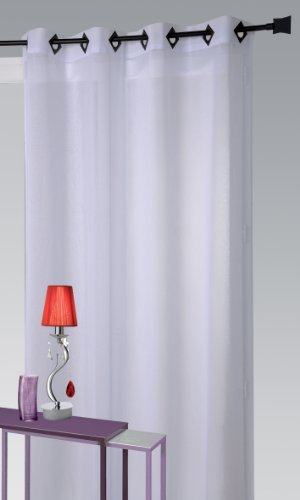 Homemaison HM69807732 Rouge - Persiana enrollable y estor, 100% poliéster de 240 x 260 cm, color rojo