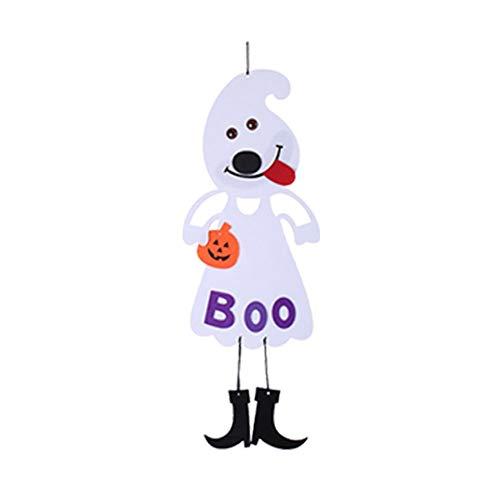 danmei House Escape Dekoartikel für Halloween Horror Haunted Hexe Requisiten Halloween zum Aufhängen Pirat Hexe Gefangene Reaper Ghost, Papier, 2#, 25x70cm (Halloween-escape Haunted 2)