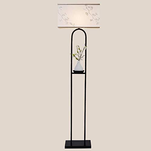 MJK Stehlampe, Neue Chinesische Stehlampe für Wohnzimmer Schlafzimmer Esszimmer Studie Hotel Villa Dekoration Lampen, Lesen Stehlampe (Neues Machen Jahr-dekorationen Chinesische)