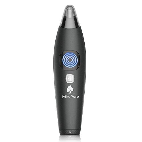 Intelligenter Nasenhaarschneider Wasserdicht mit LCD Display 1 Taste Sperre 5 Minuten automatisches Ausschalten für Männer feucht / trocken