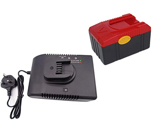 18V 4000mAh CTB6187 Battery + Charger CTC620 Replacement for Snap on  CTB6187 CTB6185 CTB4187 CTB4185