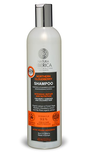 Intensive Repair Nutrition Shampoo (Natura Siberica NS Sauna&Spa Ginseng Siberian Protection And Repair Hair Mask, 1er Pack (1 x 400 ml))