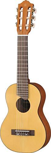 Yamaha GL1 Guitalele - Mini Guitarra de Madera con las dimensiones de un Ukelele, escala de 17 pulgadas, 6 cuerdas de nylon, color Natural