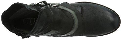 Mjus 650207-0103-0001, Bottes Classiques femme Multicolore - Mehrfarbig (nero+piombo+nero)
