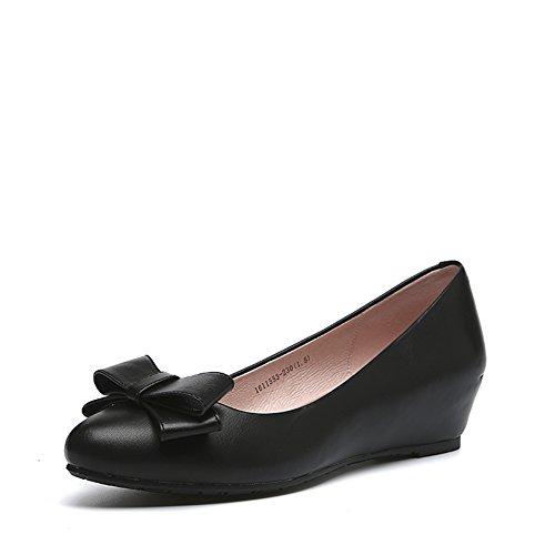 Lady Grace zeppe scarpe/Confortevole scarpe con gli archi-A Lunghezza piede=22.8CM(9Inch)