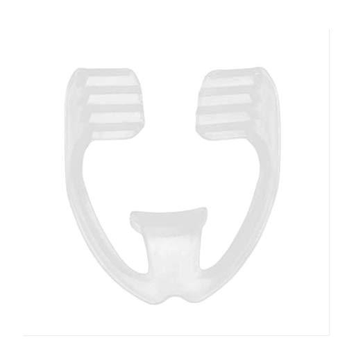Kimmyer Ultradünner Schleifschutz für Nacht-Zahnschutz - Dünne Mundstück-Schlaf-Okklusionsschiene zum Anhalten der Zahnschleifschale, Molaren-Nachtpflege, Zahnfleischschutz
