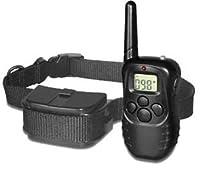 Collier de dressage électrique choc et anti-aboiement pour chien avec télécommande + Excelvan TF lecteur