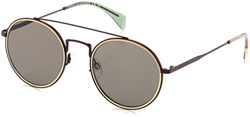 Tommy Hilfiger Th1455s Round Sunglasses, Smt Brown, 53 mm