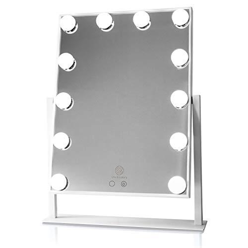 Hollywood Vanity Spiegel Style Makeup Tabletops, Große Kosmetikspiegel Dimmable Touch Control LED-Lampen KosmetikspiegelH0509