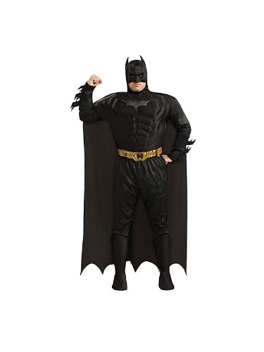 Batman Deluxe Dark Knight Kostüme (Batman The Dark Knight Deluxe Herren Kostüm Gr.)