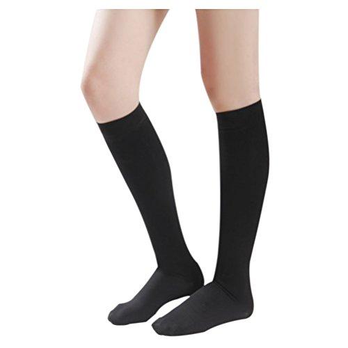 40 Mmhg Abgestufte Kompression Strumpfhosen (Deylaying Kniehohe abgestufte Kompression Mutterschaft Strümpfe Klasse 3 (40-50 mmHg) - Medizinisch Elastisch Strümpfe Krampfadern Socken)