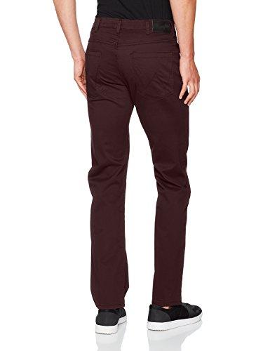 Wrangler Herren Straight Jeans Arizona Rot (Red Brown 15)