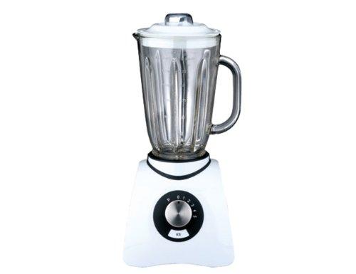 Gastroback 40898 Batidora de vaso, 600 W, 1.5 litros, 0 Decibelios, Plástico, 5 Velocidades, Blanco