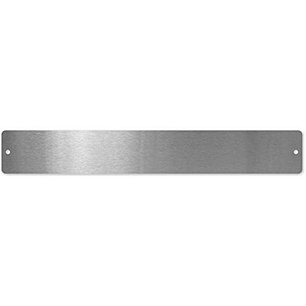 40 x 20 x 5 cm Silver first4magnets/™ Kleine rechteckige Magnettafel//Strip c//w 6 Magnete-White Metall 350 x 50mm