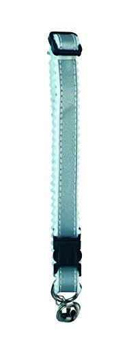 Kerbl 83192 Katzenhalsband, Reflektierend, grau