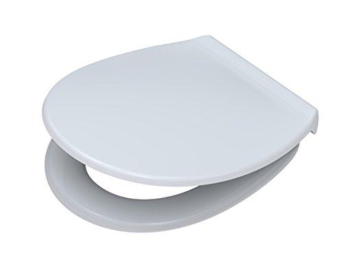 Pagette WC-Sitz Exklusive Highline mit Deckel und Absenkautomatik Polyamid, weiß, 790830402