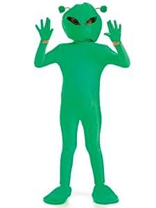 Fun Shack Child Alien Costume - AGE 4 - 6 YRS (S)