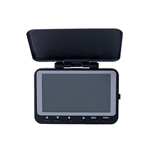 BAACHANG Wireless Fish Finder Sonar Sensor Transducer Anti-UV-LCD-Anzeige Tiefe Finder für Boot Float Tube Kanus (Farbe : Schwarz) -