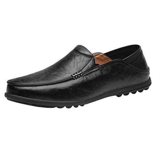 ODRD Männer Schuhe Herren Shoes Large Size England Peas Schuhe Casual Driving Schuhe Breathable Lazy Schuhe Worker Laufschuhe Combat Hallenschuhe Wanderschuhe Freizeitschuhe Sports (Halloween In England Für Kinder)